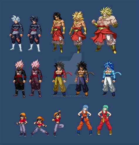 Previous/Current Commissions (extreme butoden) by