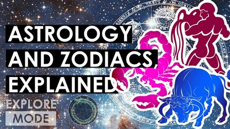 Astrology Origins and The Zodiacs explained   Explore Mode