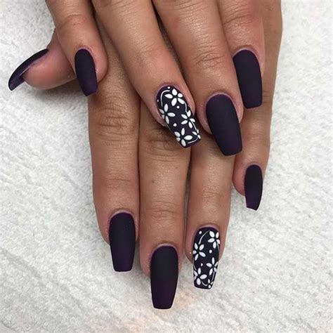 23 Must Have Matte Nail Designs for Fall   Page 2 of 2