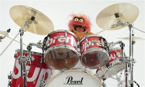 Supreme Enlists The Muppets to Debut Pearl Drum Set