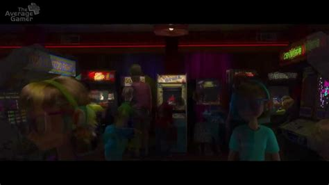 Wreck-It Ralph Arcade Opening - Slow Motion