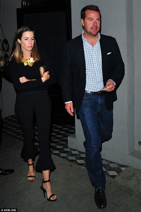 Chris O'Donnell and wife make rare public appearance in CA