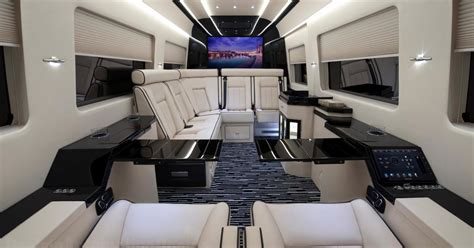 See Photos of Ultra-Luxe Mercedes-Benz Vans That Have Huge