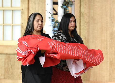 Names of Indigenous children who died in residential