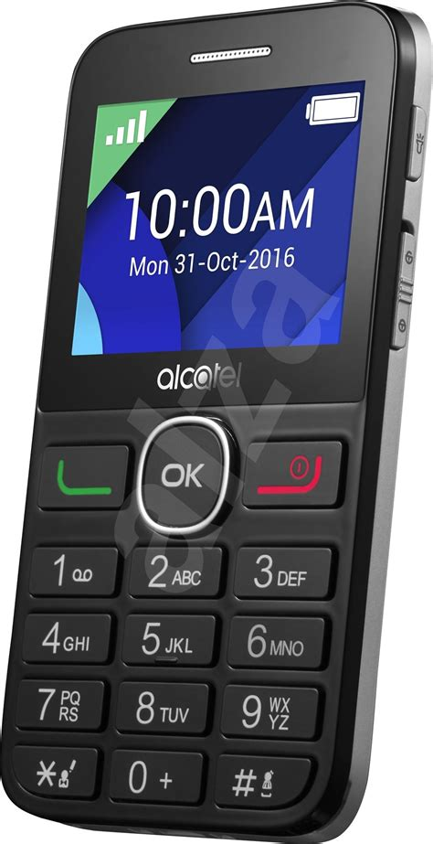ALCATEL ONETOUCH 2008G Black/Silver - Mobile Phone