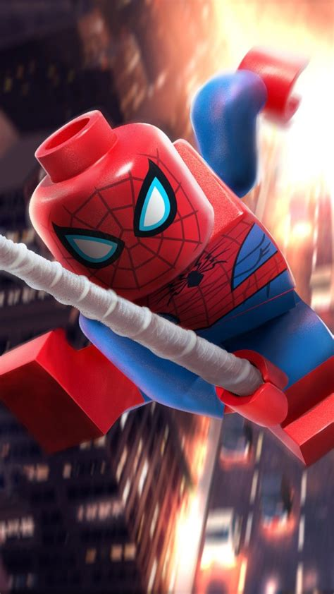 Lego Spider Man Wallpapers - Wallpaper Cave