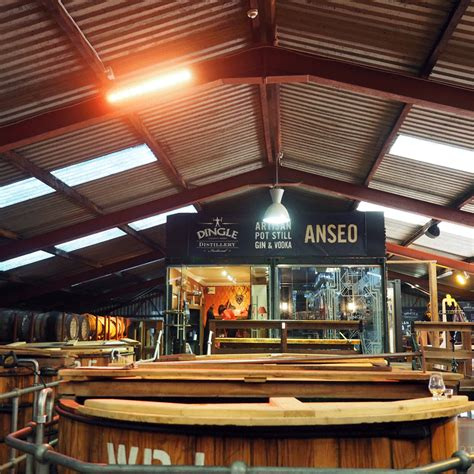 A tasting tour of the Dingle Distillery is yet another