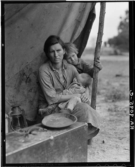Migrant Mothers: Dorothea Lange's Elegant Faces Of The