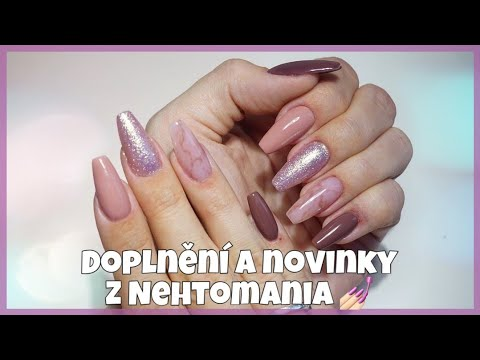 Ombre pink and white powder - Yelp   Gold glitter nails