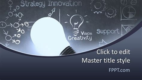 Free Strategy Innovation PowerPoint Template - Free