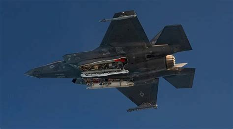 Watch An F-35 Drop A B61 Nuclear Bomb In This First-Ever
