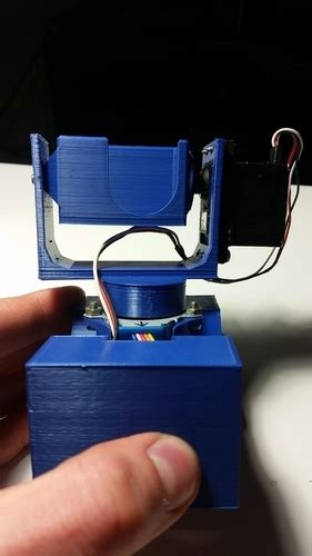 3D Printed Portable GoPro 360 photo device by William