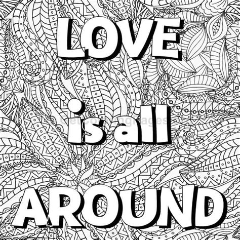 Inspirational Word Coloring Pages #10 – GetColoringPages