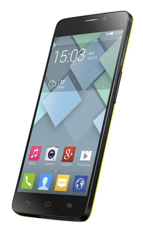 """Alcatel lifts cover off new Android flagship: 5"""" razor"""
