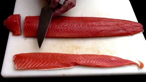 How To Properly Cut Salmon Into 4 Oz Restaurant Portion