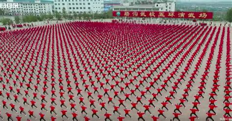 Incredible Video Shows What Kung Fu Looks like From Space