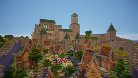 City of Bastion Map For Minecraft 1